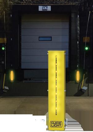 led dock lighting | dock lighting | loading dock safety, Reel Combo